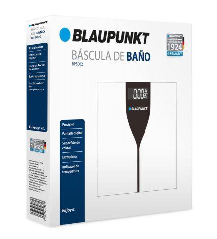 BASCULA DE BAÑO BLAUPUNKT DIGITAL/TEMPERATURA